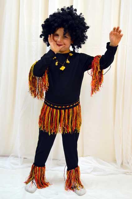Костюм папуаса для мальчика своими руками фото